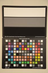 Nikon D7000 Test chart ISO200