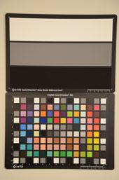 Nikon D7000 Test chart ISO1600