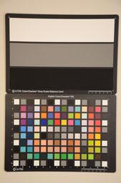 Nikon D7000 Test chart ISO6400