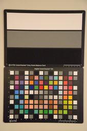 Nikon D7000 Test chart ISO12800