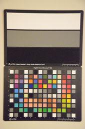 Nikon D7000 Test chart ISO25600