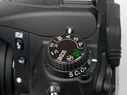 Nikon D7000 mode dial