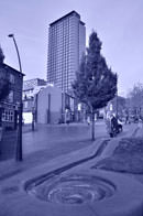 Nikon D7000 In camera editing cyanotype darker