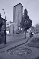 Nikon D7000 In camera editing cyanotype lighter