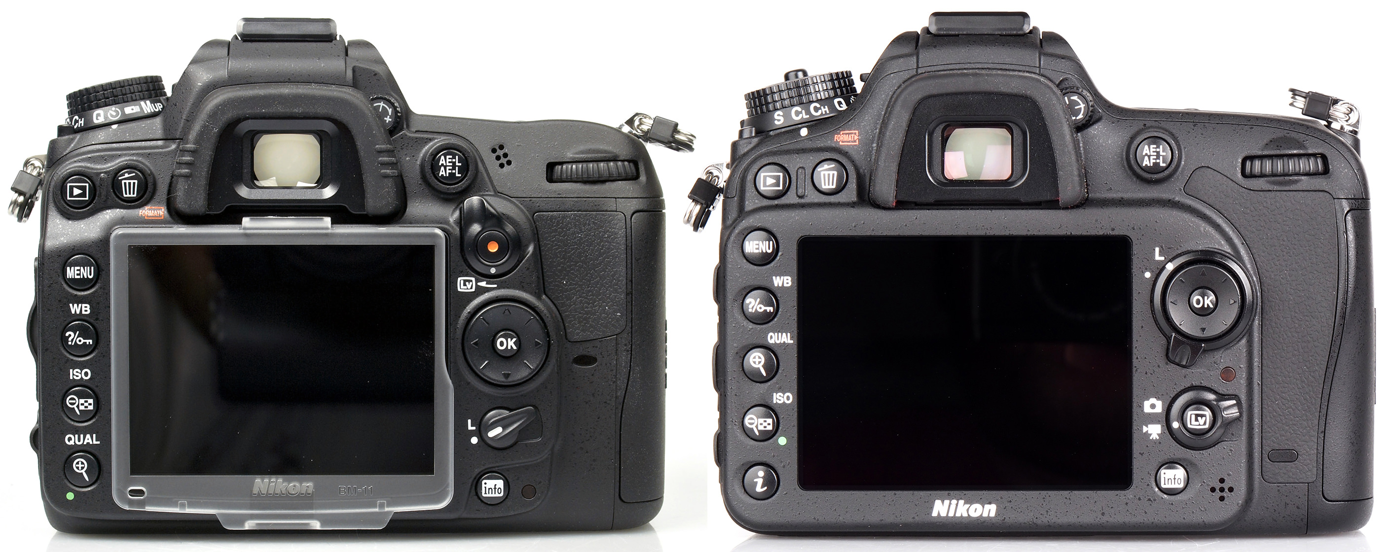 Nikon D7100 Vs D7000 Dslr Comparison Review Ephotozine