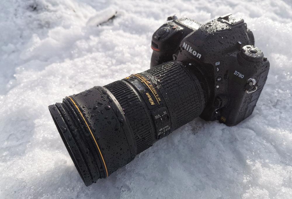 Nikon D780 In Water Spray1
