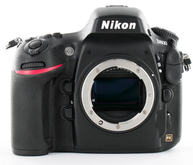 Nikon D800 Front Sensor