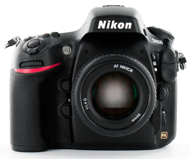 Nikon D800 With 50mm Lens