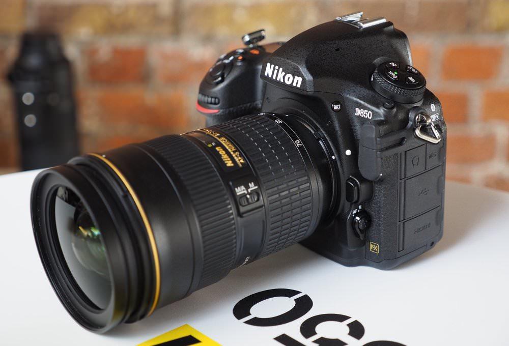 Nikon D850 With Lens