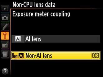 Df Compatibility With Non AI Lenses 2 E (Custom)