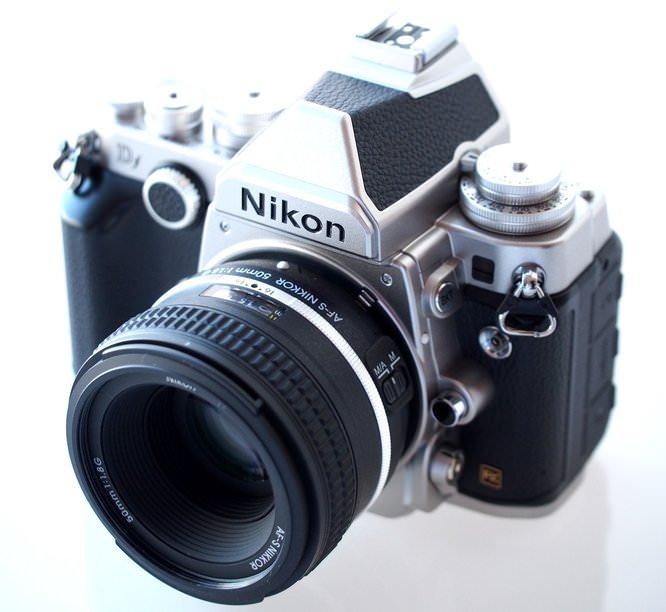 Nikon Df DSLR Silver (3) (Custom)