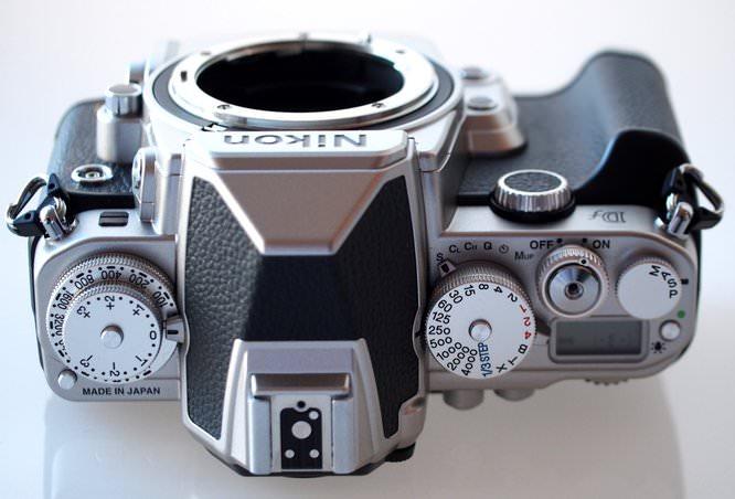 Nikon Df DSLR Silver (7) (Custom)