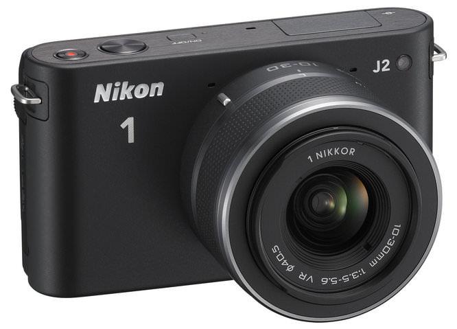 Nikon J2 J2 10 30 BK Frt34r