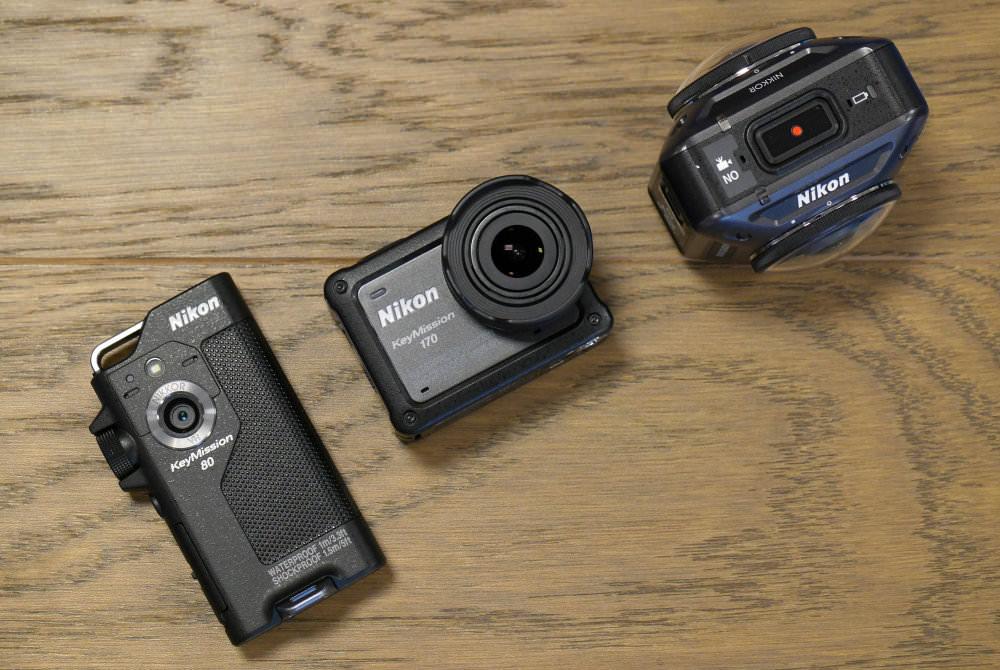 Nikon KeyMission 80 170 360 (1)