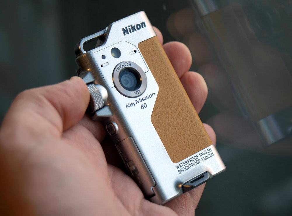 Nikon KeyMission 80 Silver