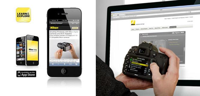 Nikon App and Digitutor