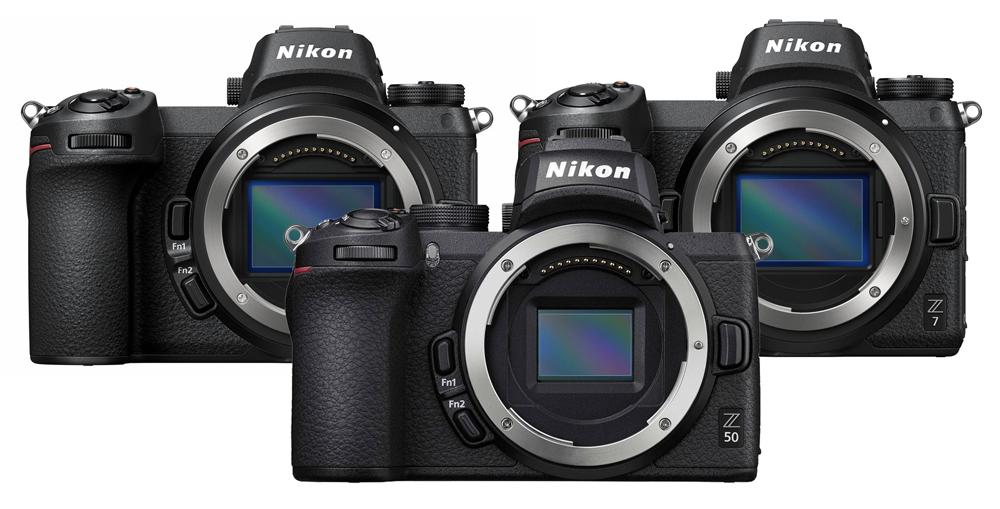 Nikon Z50 vs Z6 Vs Z7