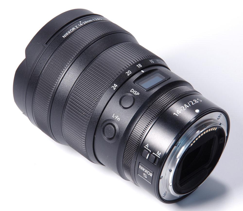 Nikkor Z 14 24mm F2,8S Rear Oblique View | 0.3 sec | f/16.0 | 78.0 mm | ISO 100