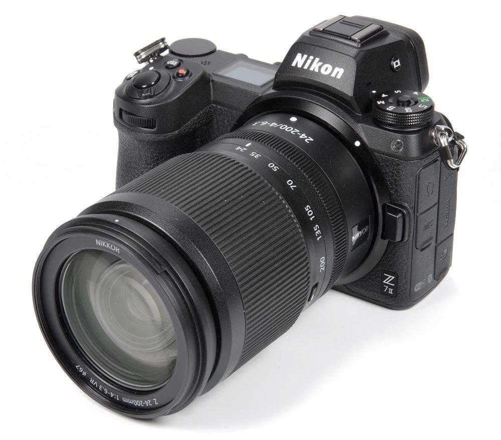 Nikkor Z 24 200mm F4 6,3 VR On Nikon Z7 II