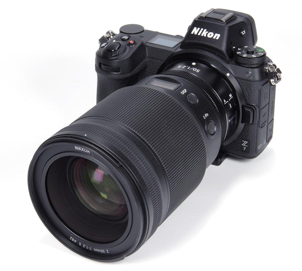 Nikkor Z 50mm F1,2S On Nikon Z7