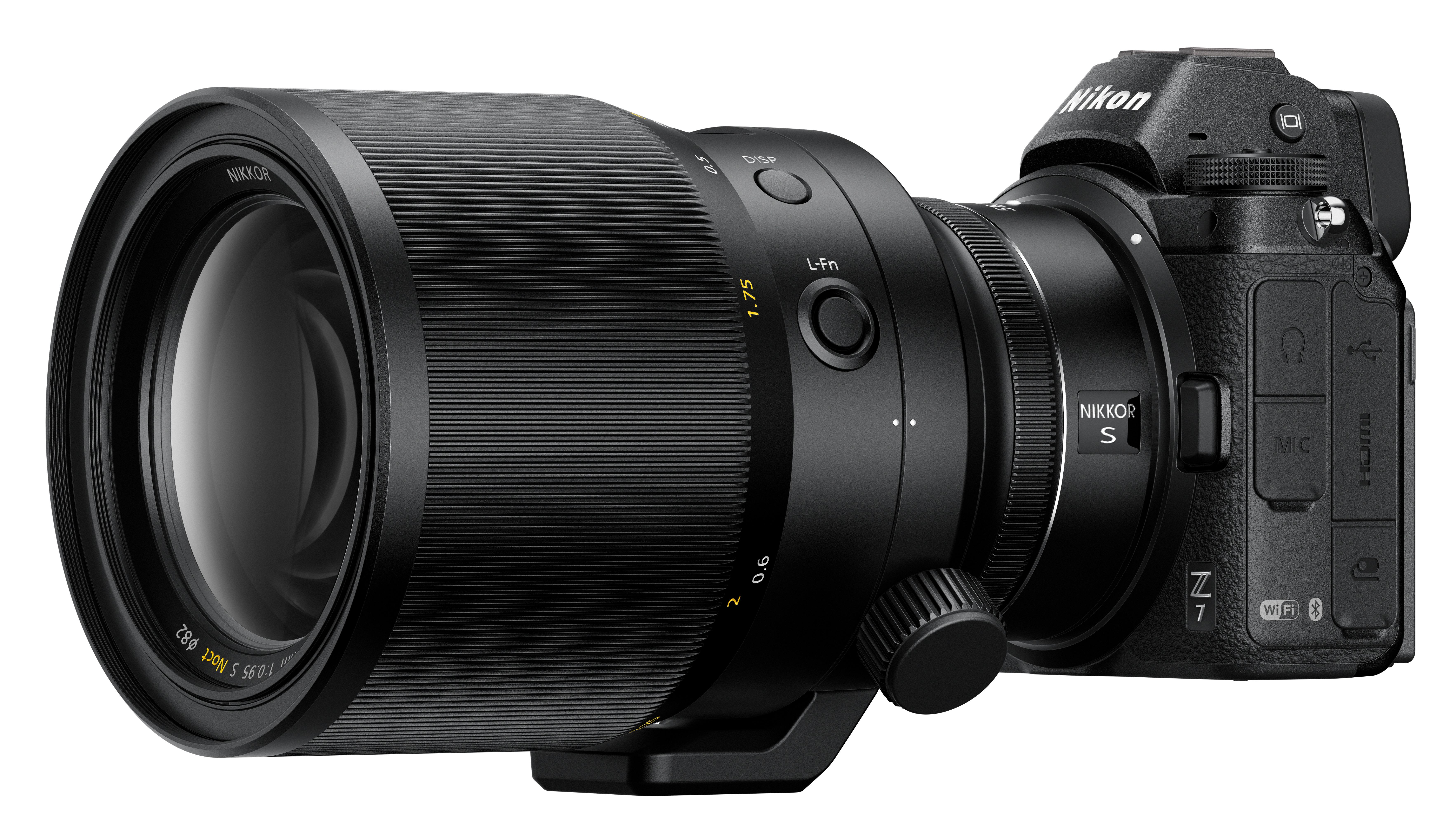 Nikon Nikkor Z 58mm f/0 95 S Noct Lens In Development