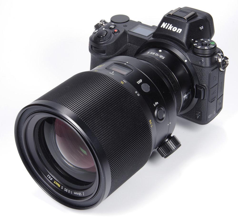 Nikkor Z 58mm F0,95S On Nikon Z7
