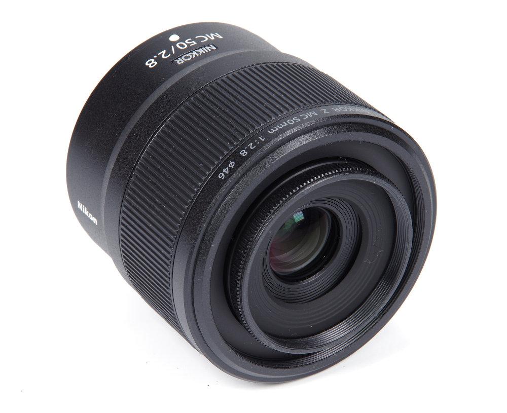 Nikkor Z Mc 50mm F2,8 Front Oblique View