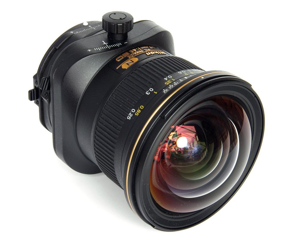 Pc Nikkor 19mm F4 Front Oblique View