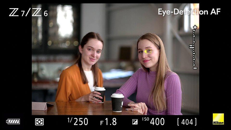 Nikon eye detection AF