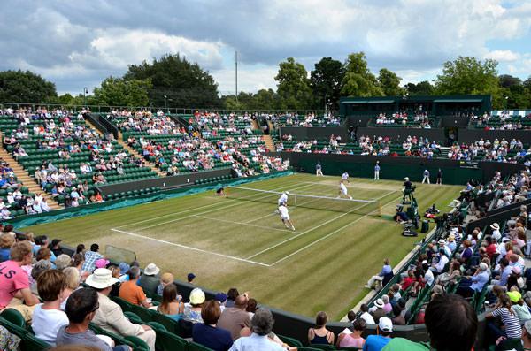 Court at Wimbledon