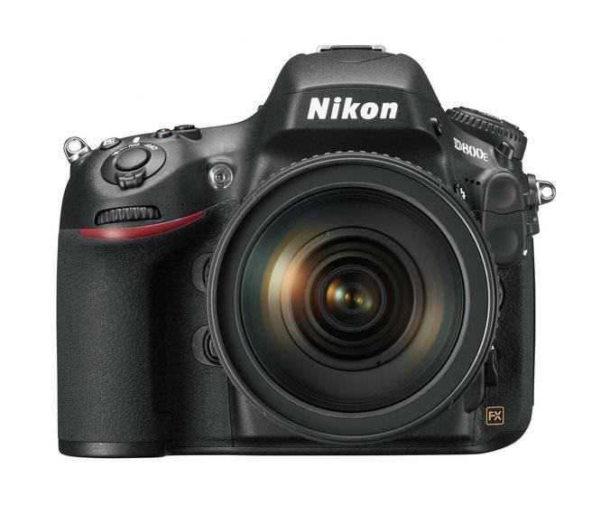 Nikon D800E 24 120 front