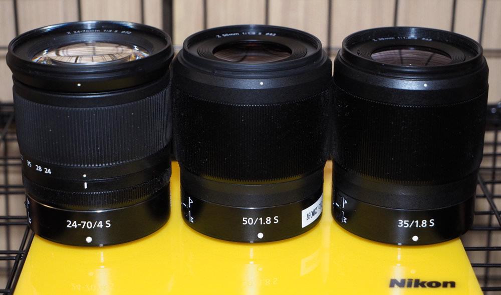 35mm 50mm 24-70mm Lens Range