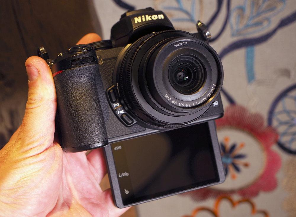 Nikon Z50 Selfie Screen