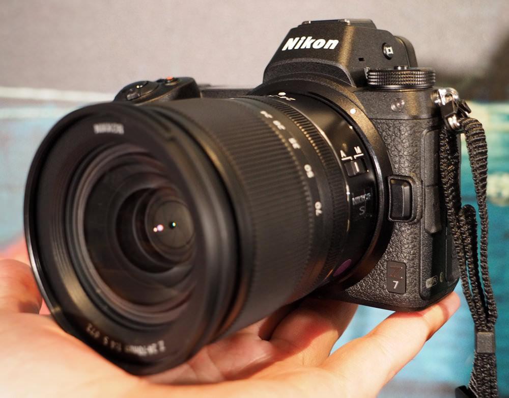 Nikon Z7 24 70mm Blue Bg (2)