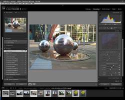 Adobe Lightroom 3 screengrab