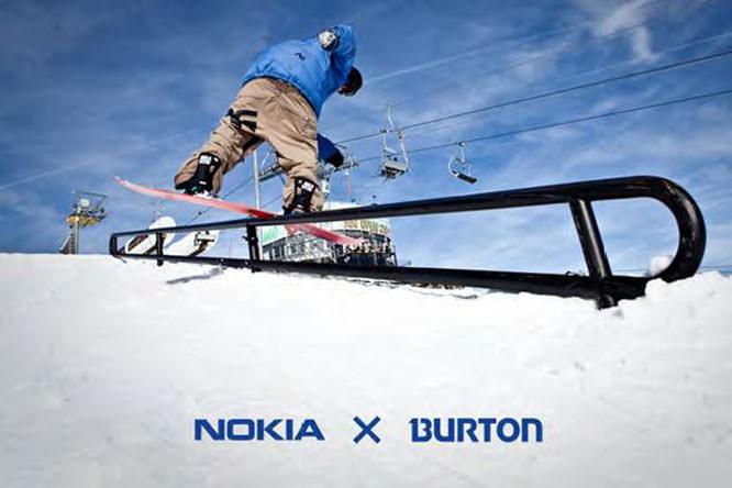 Nokia X Burton