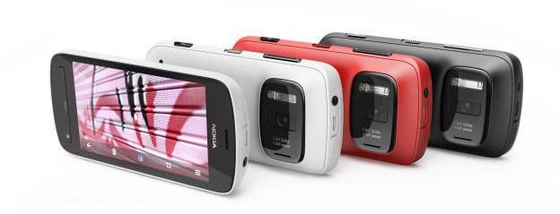 Nokia 808 PureView group shot