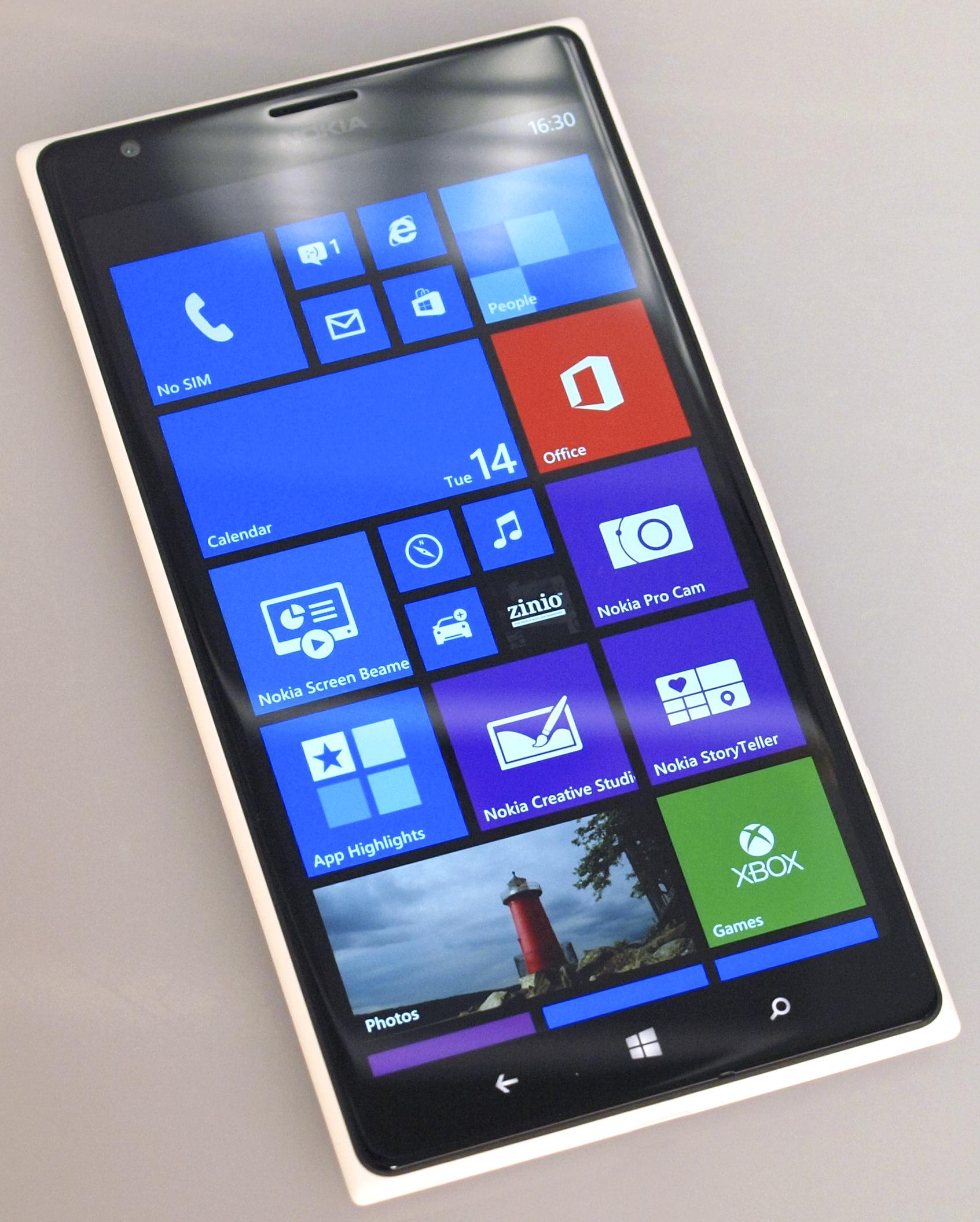 Nokia Lumia 1520 Pureview White (1)