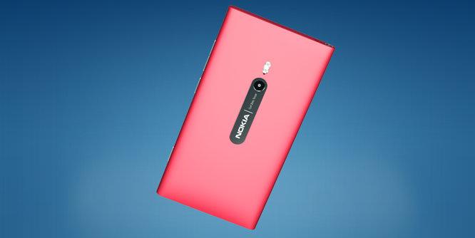 Nokia  Lumia 800 Back