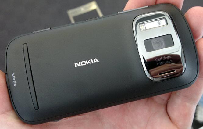 Nokia PureView 808 Lens Rear