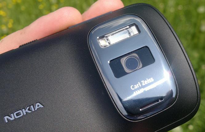 Nokia Pureview 808 Lens Closeup