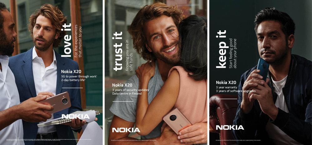Nokia X20   Key Visual   Love It, Trust It, Keep It
