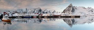 Norway Harbour Panorama Awarded Photo Of The Week Accolade