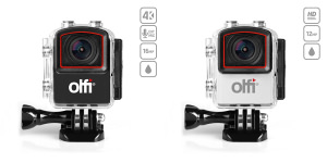 Olfi One.Five Black & Olfi One.Five White Action Cameras