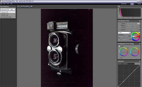 PhotoEngine Noise test