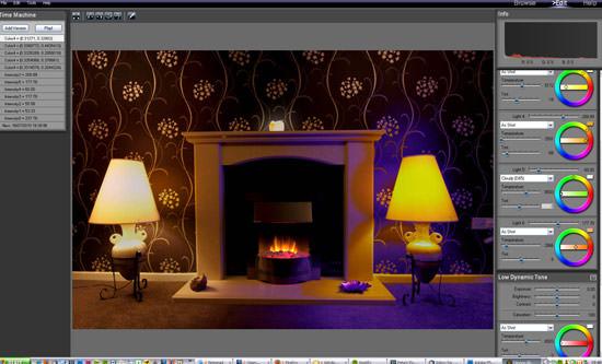 PhotoEngine Relight bug