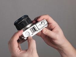 Olymnpus E-P1 dials