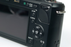Olympus E-P2 vs Panasonic Lumix DMC-GF1: Panasonic controls