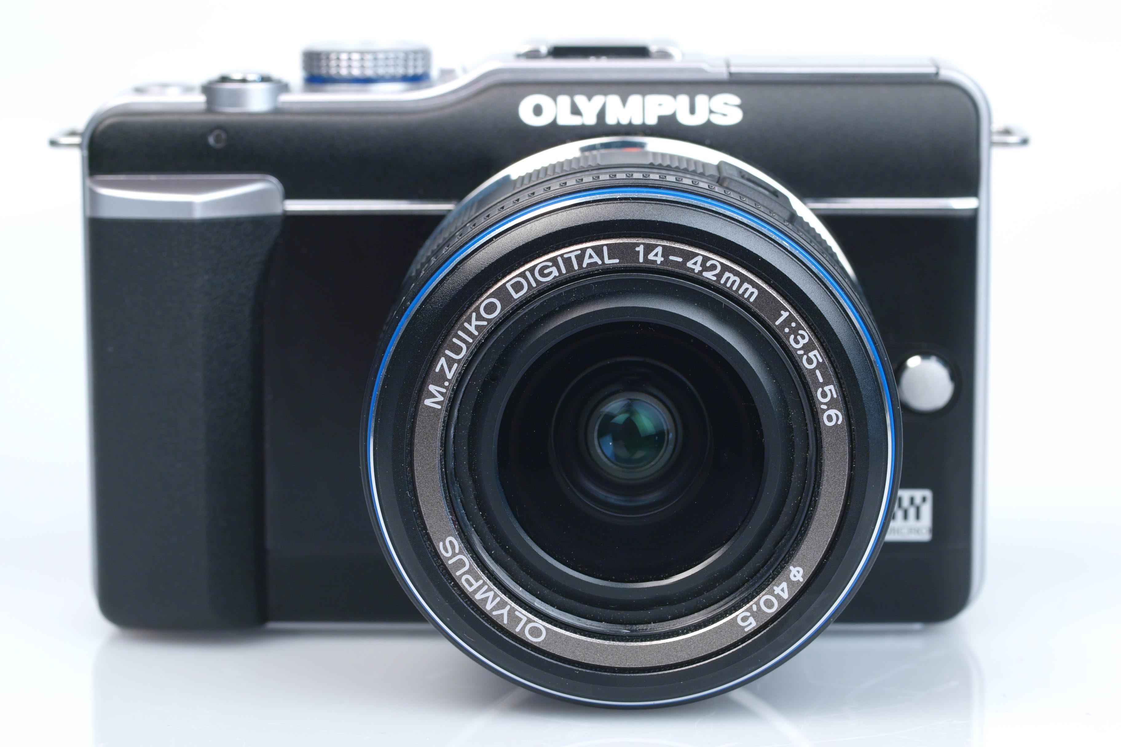 Camera Olympus Dslr Camera Reviews olympus pen e pl1 digital camera review front view