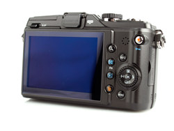 Olympus PEN E-PL2 rear